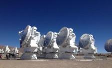 ALMA instrument array in Atacama, Chile