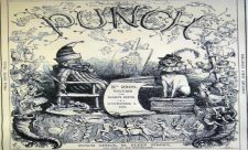 Punch cover from the late 19th century. From the private collection of Britt Nelson